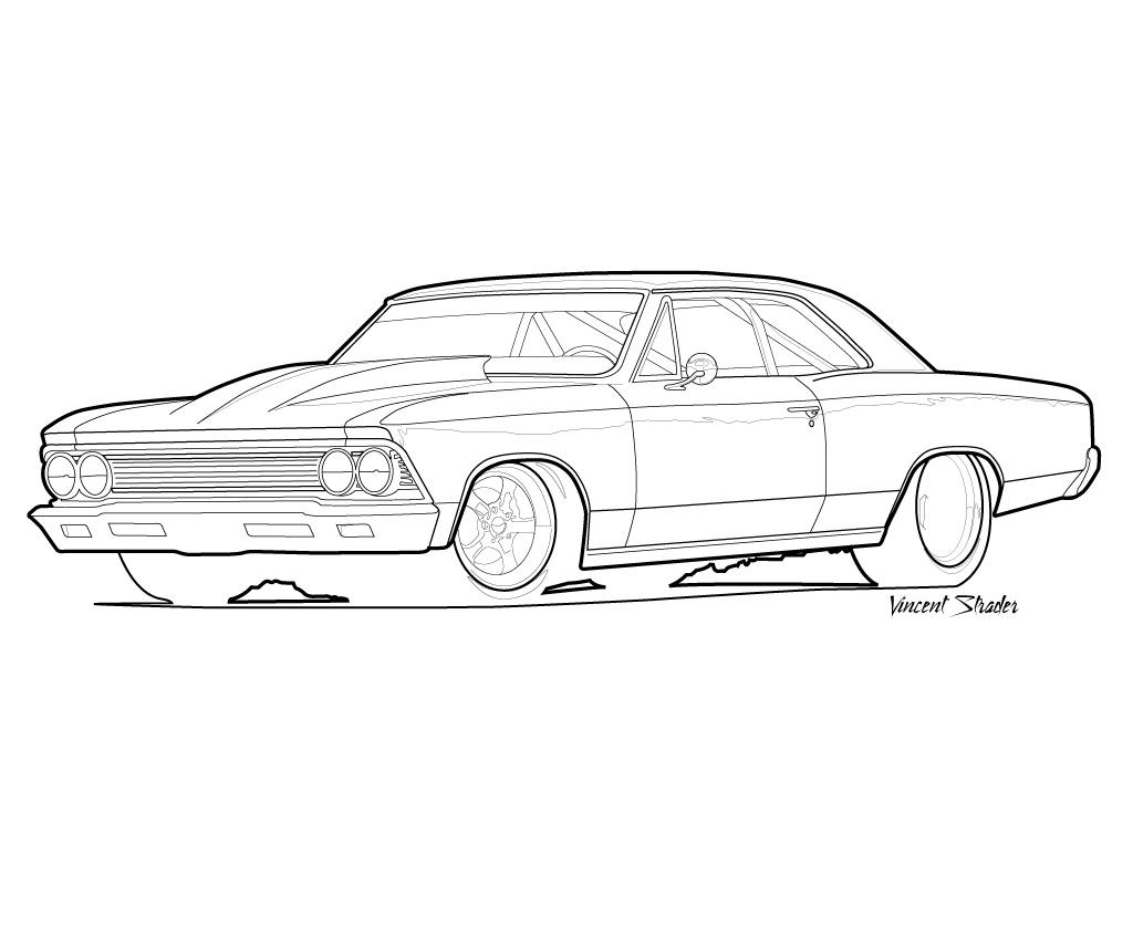 chevelle coloring pages - photo#18