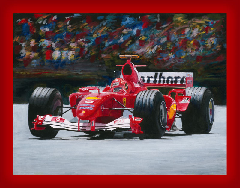 Ferrari Painting Giclee prints by Z-Vincent