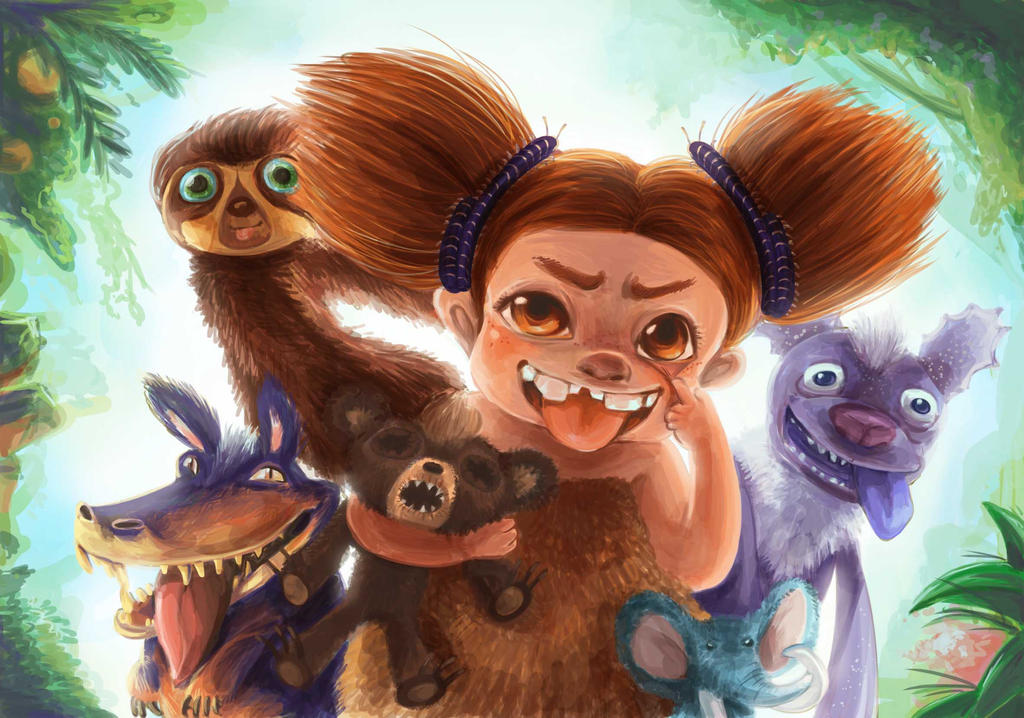 The croods by stawwi on deviantart the croods by stawwi voltagebd Images