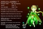 [OC Sheet/Profile] Quelana Jadebell