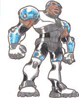 Cyborg by Holey-Moley