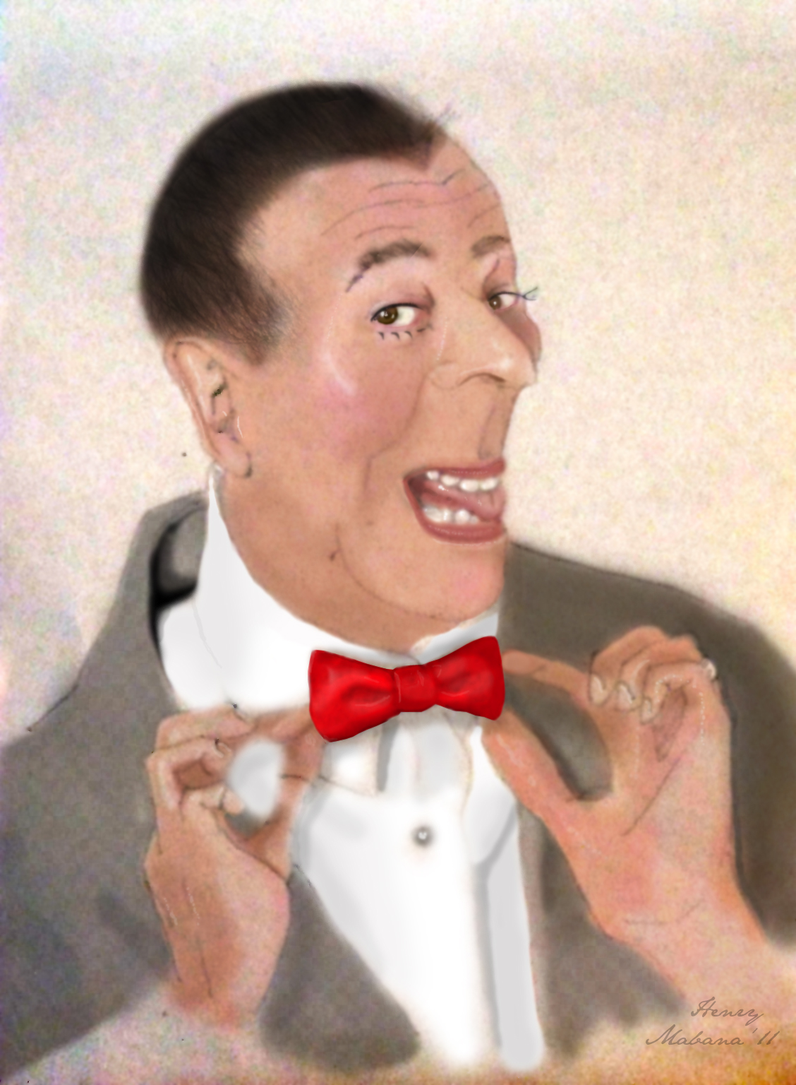 Pee-Wee Herman by reg19 on DeviantArt