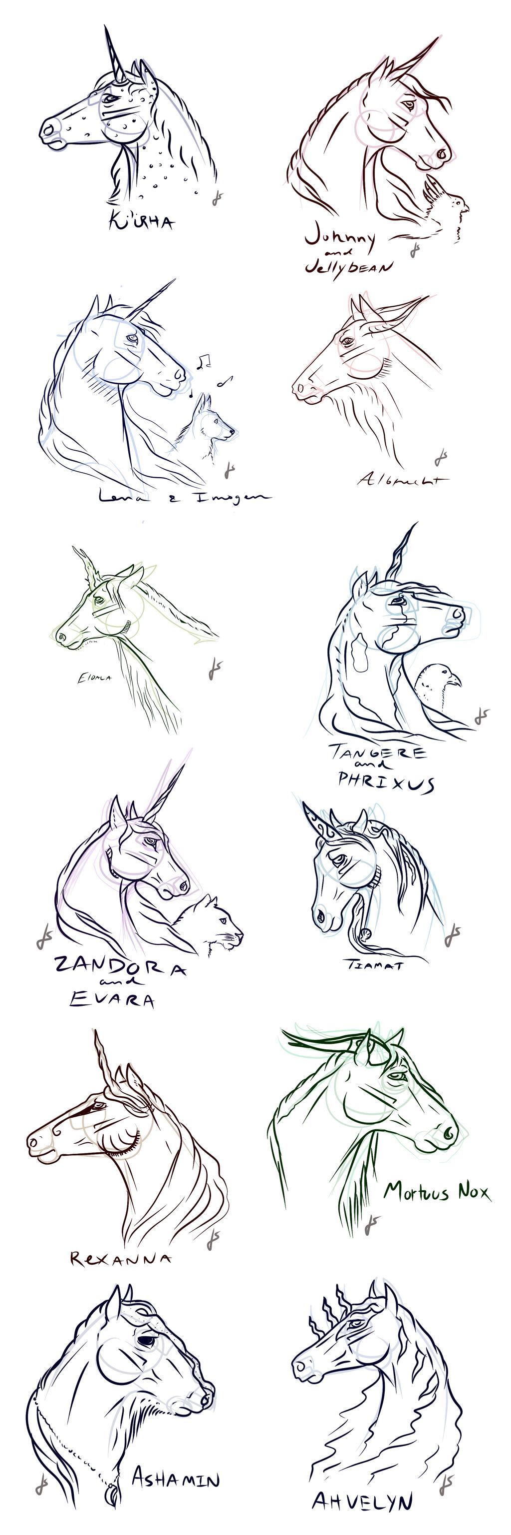 Aurora Basin Sketches by TheArtlex