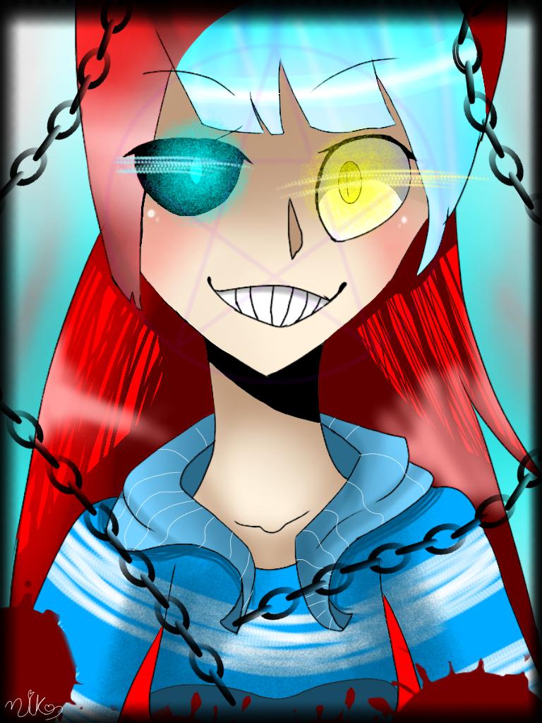 Evil tiffany by MEKOISMYNAME