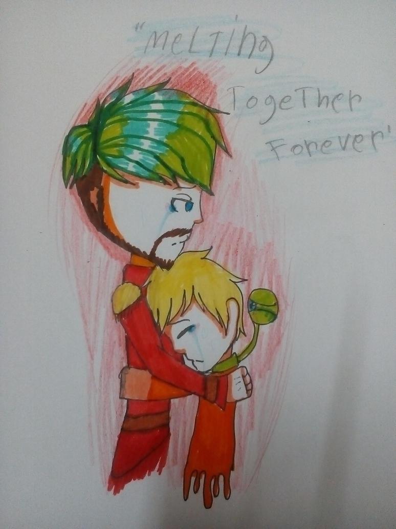 Melting Toghther Forever by MEKOISMYNAME
