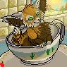 teacup fennec port SOLD by catfarts