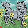 sunflower wolf collab for SALE by catfarts