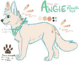 angie fennec fox - temp ref by catfarts
