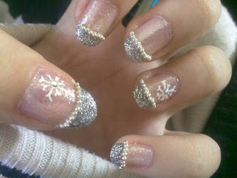 Xmas nails by tranmai
