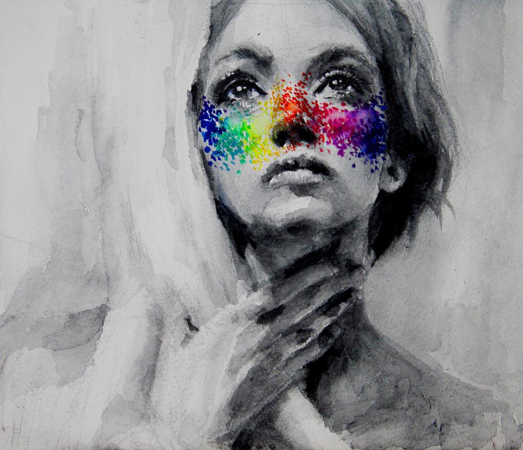 LSD freckles by OlgaKalinovskaya