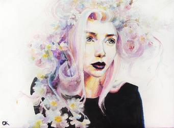 Permanent blossom by OlgaKalinovskaya