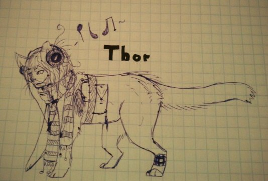 Thor doodles by xDorchester
