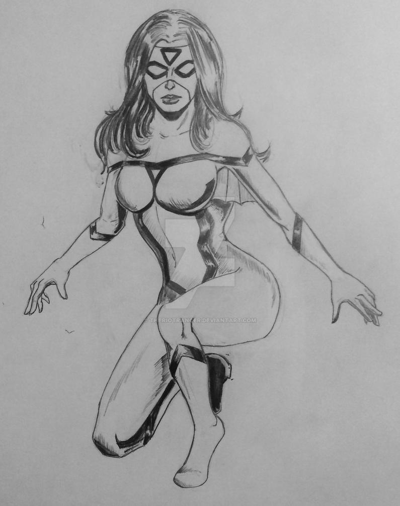 Spider woman by TheRiotRanger