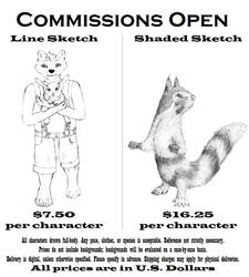 Open for commissions