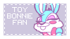 Toy Bonnie Fan [ stamp- ] by niight-mares