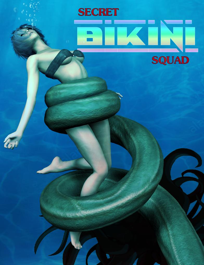 Secret Bikini Squad: Issue #2 (Alt) by thesteedman