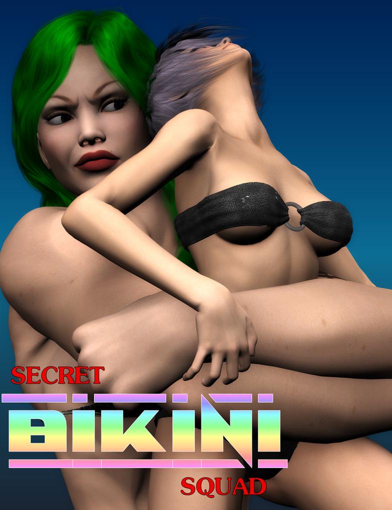 Secret Bikini Squad: Issue #45 by thesteedman