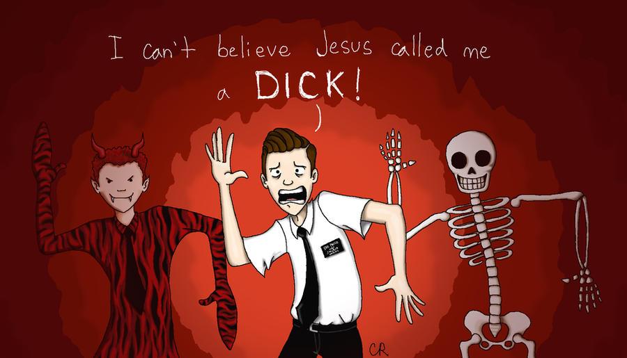 Spooky Mormon Hell Dream by tee-kyrin