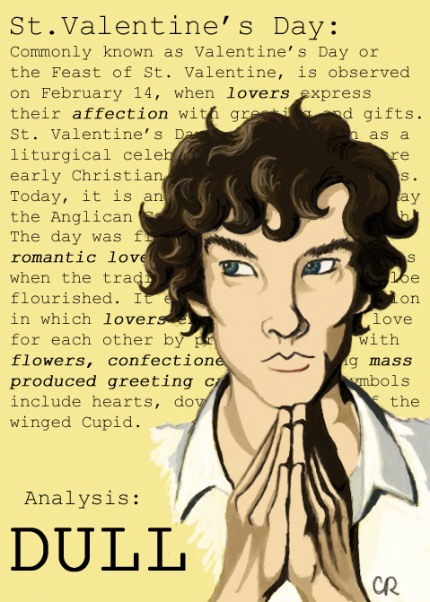 Sherlock Valentine By Tee Kyrin ...