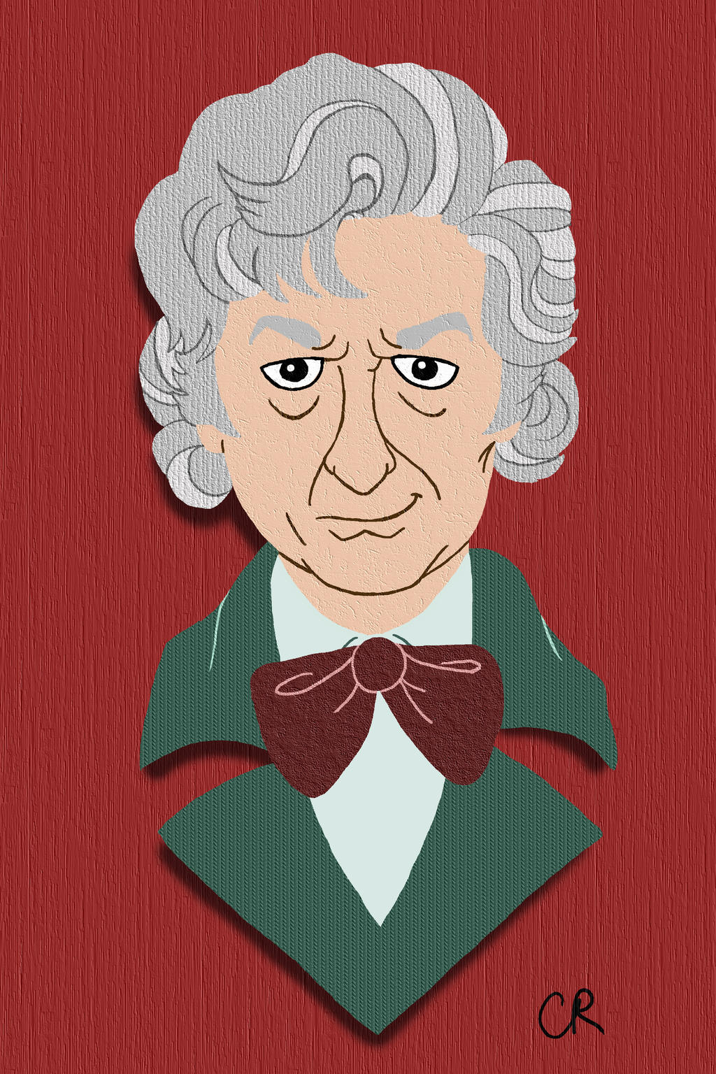 3rd Doctor by tee-kyrin
