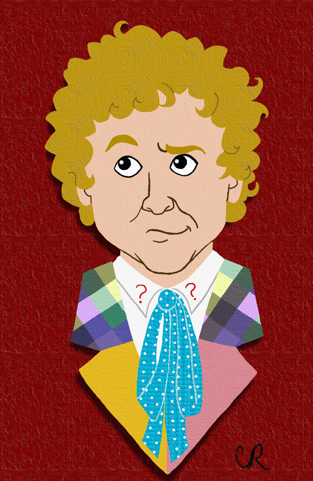 6th Doctor by tee-kyrin
