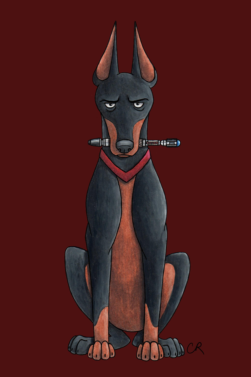 Ninth Dogtor by tee-kyrin