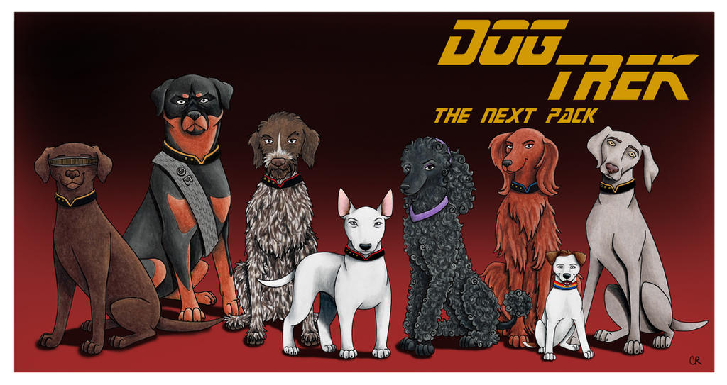 Dog Trek: The Next Pack by tee-kyrin