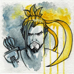 Hanzo by tee-kyrin