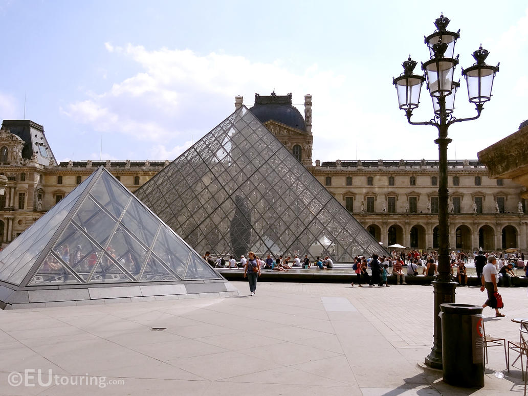 Architecture of the louvre by eutouring on deviantart - Louvre architekt ...