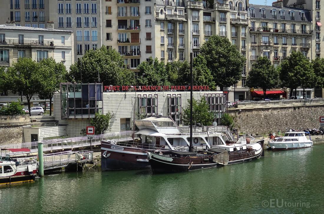 Harbour offices at port de l 39 arsenal by eutouring on - Port de l arsenal paris ...