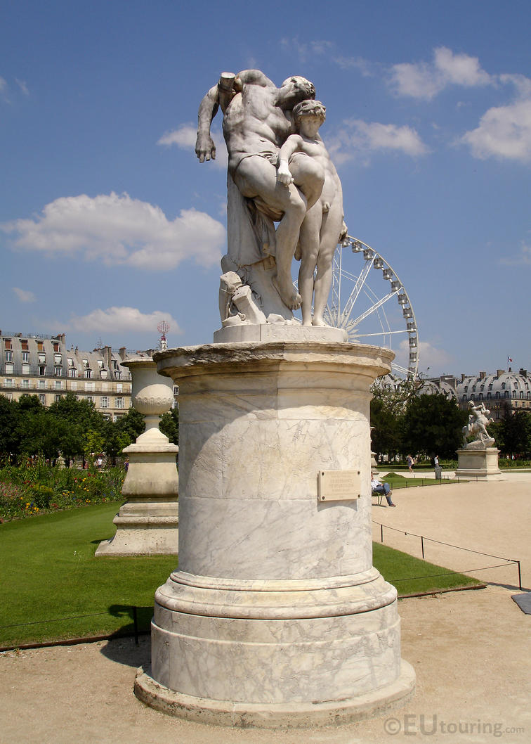 Marble statue in the tuileries by eutouring on deviantart - Sculpture jardin des tuileries ...