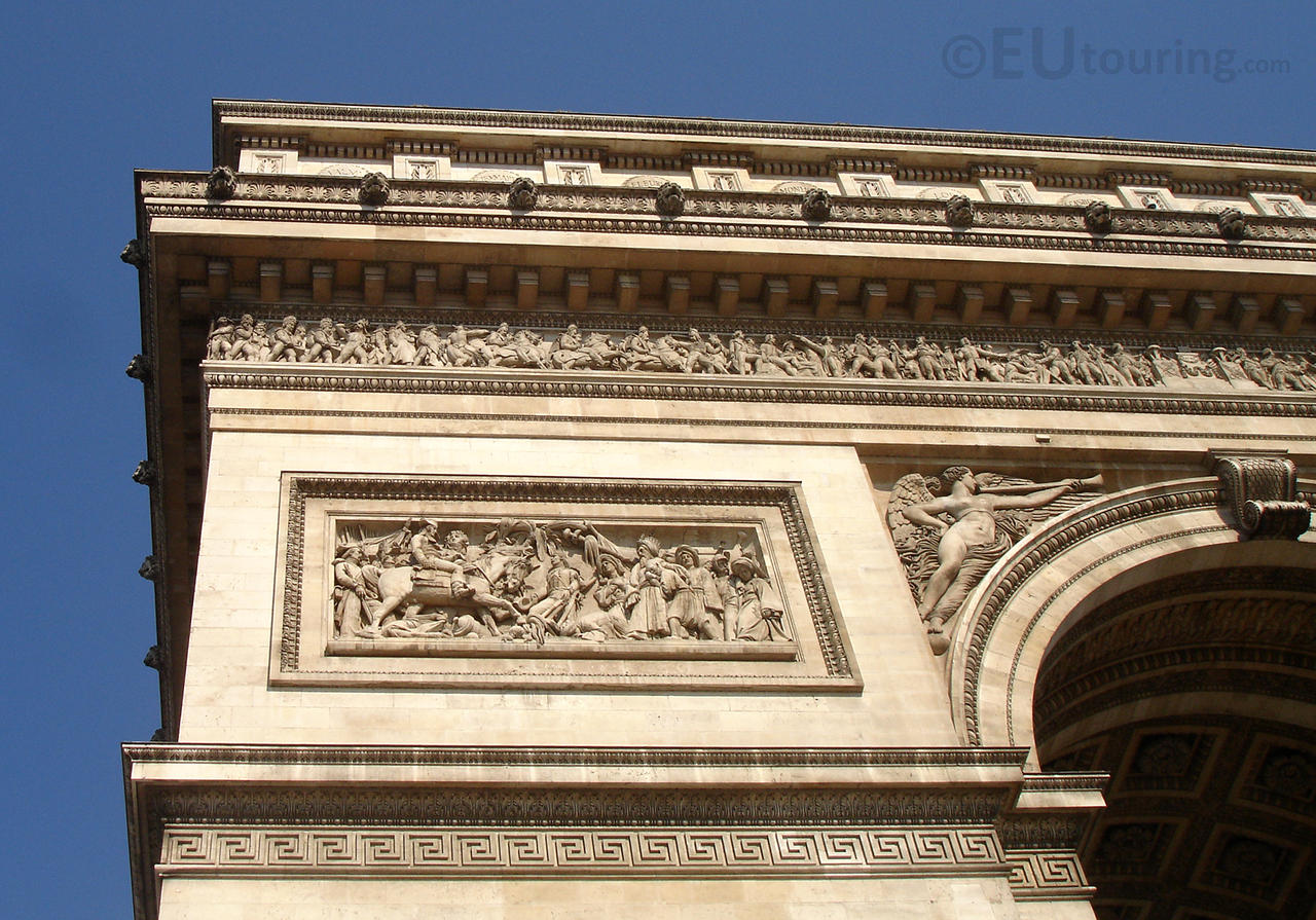 details of the arc de triomphe by eutouring on deviantart