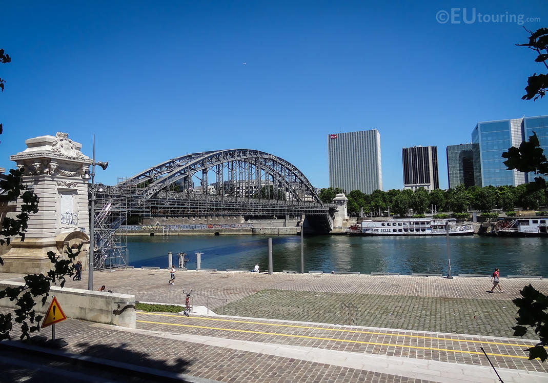Viaduc d'Austerlitz and River Seine by EUtouring