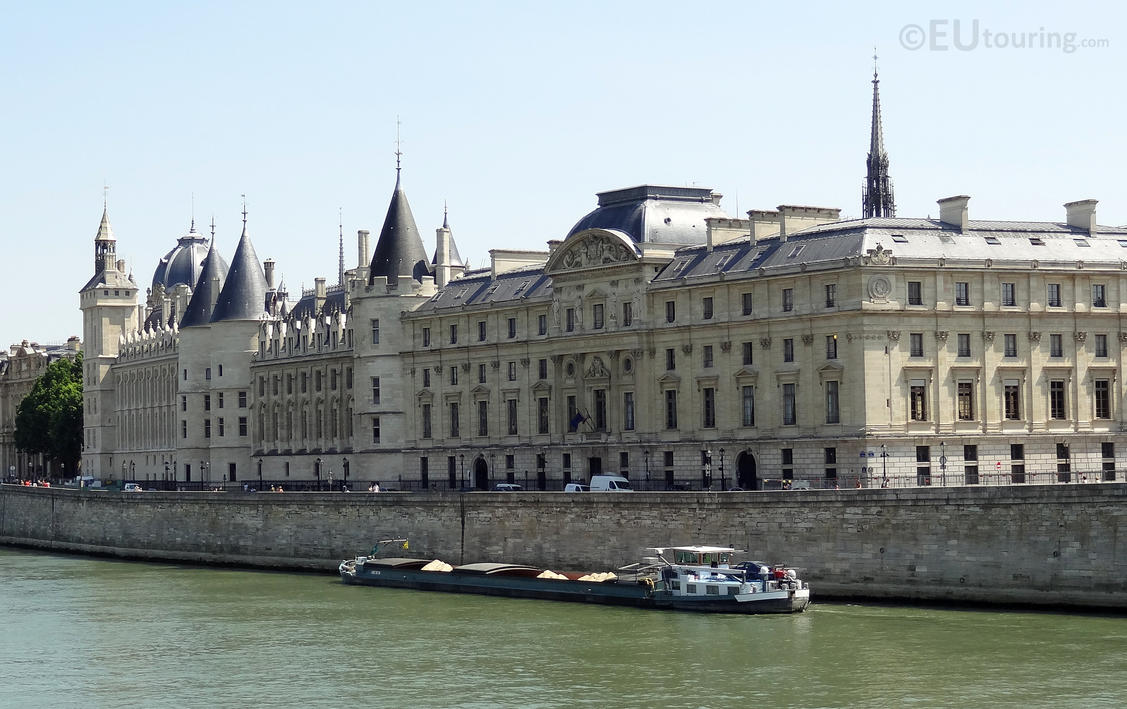 The side of La Conciergerie by EUtouring