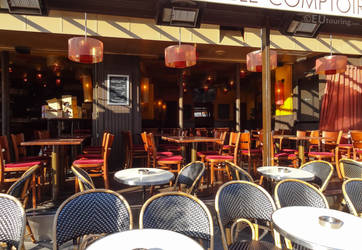 Elegant cafe and restaurants of Paris by EUtouring