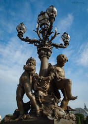 One of four Les Amours Candelabras by EUtouring