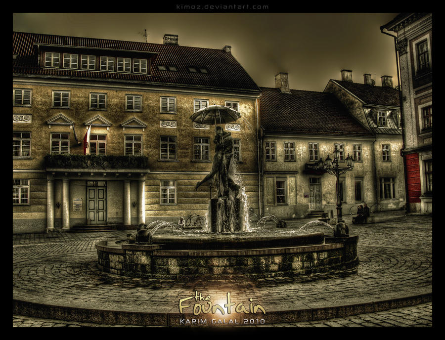 The Fountain by kimoz