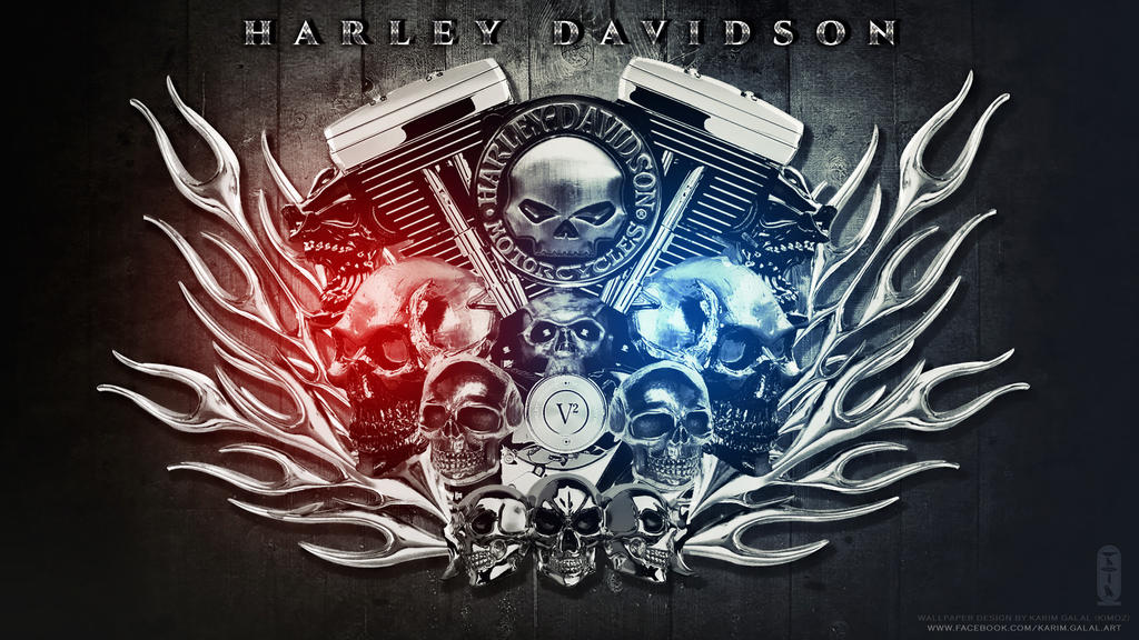 HARLEY DAVIDSON Wallpaper HD II by kimoz