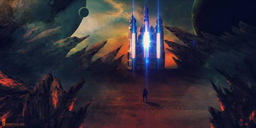 Stranger in a Strange Land II by kimoz