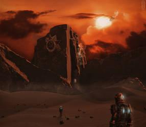 USSR Mars Colony by kimoz