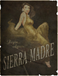 Sierra Madre Poster by timnomonin