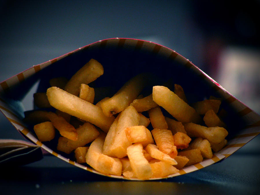 French Fries by bibiaan