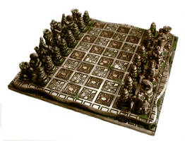 Ancient Omen Chess Set by Goomba-2007