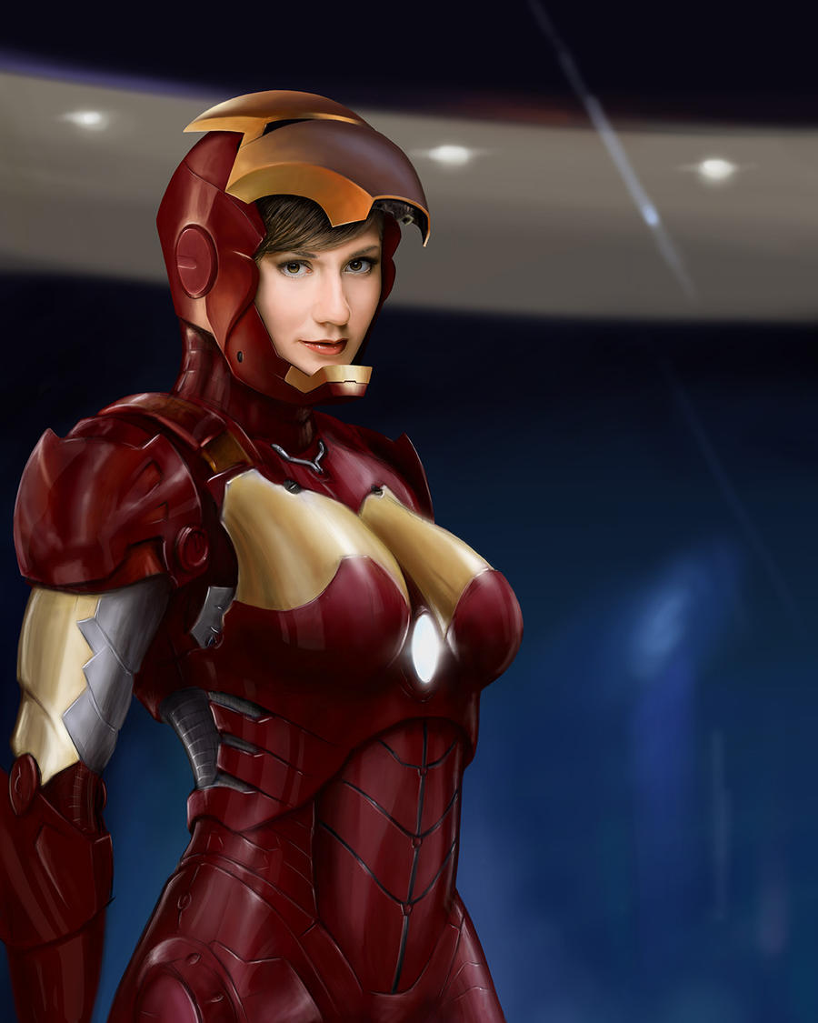 Iron Woman by Packwood on DeviantArt