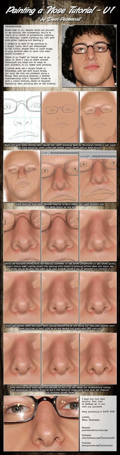 Nose Tutorial - V1 by Packwood