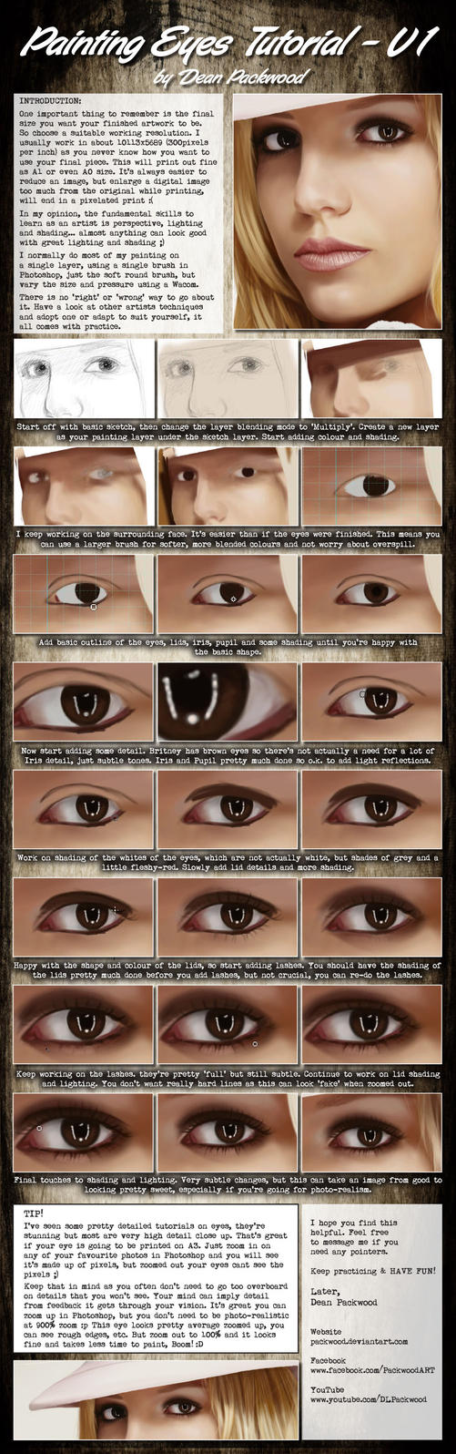 Eyes Tutorial - V1 by Packwood