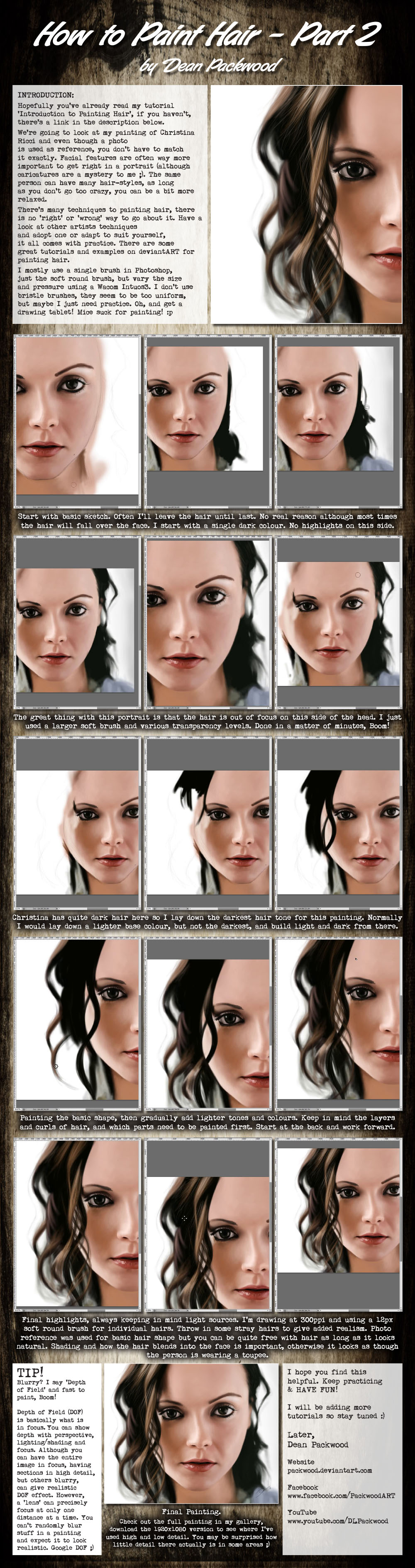 Hair Tutorial - Part 2 by Packwood