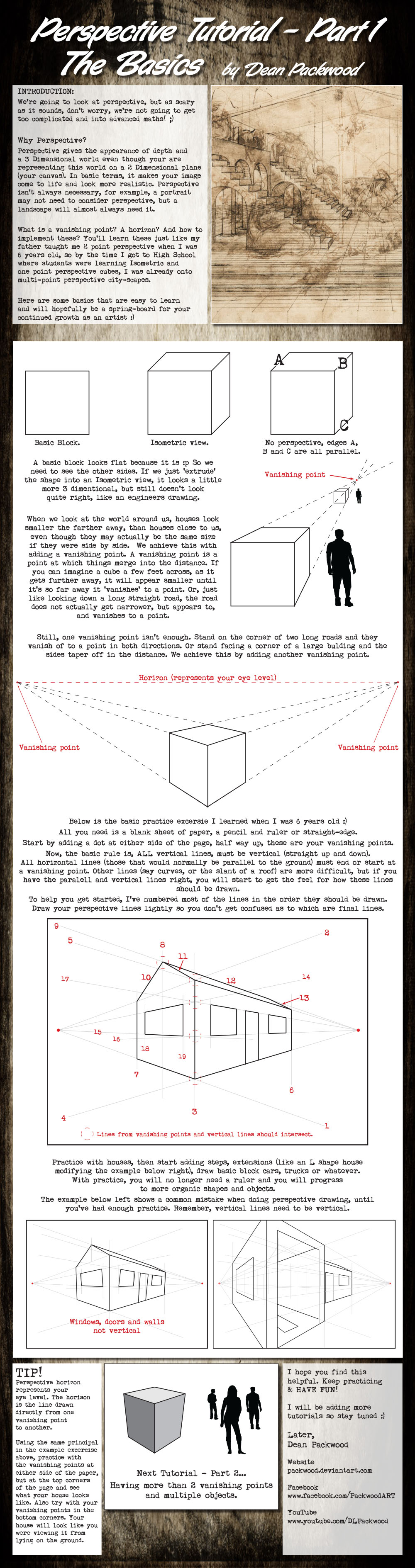 Perspective Tutorial - Part 1 by Packwood