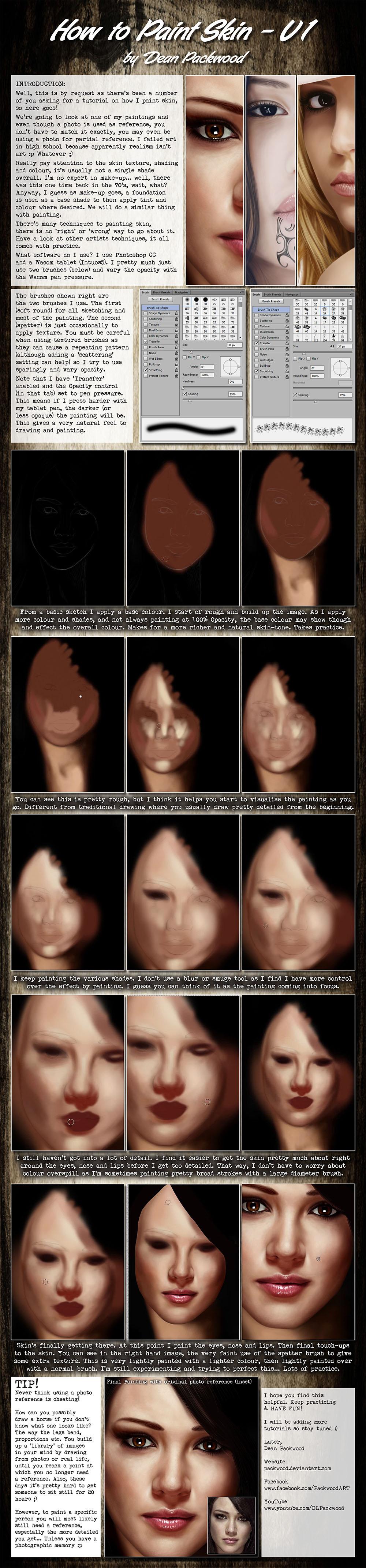 Skin Tutorial - V1 by Packwood