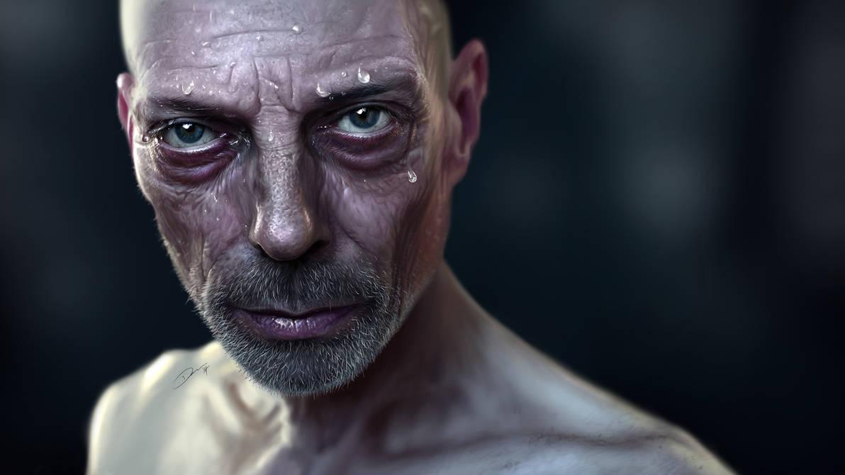 Digital Painting - Hyperrealism
